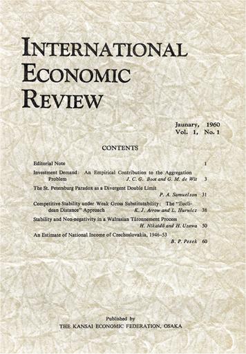 International Economic Research